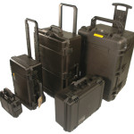 Storm® Cases with pull-up handles and wheels
