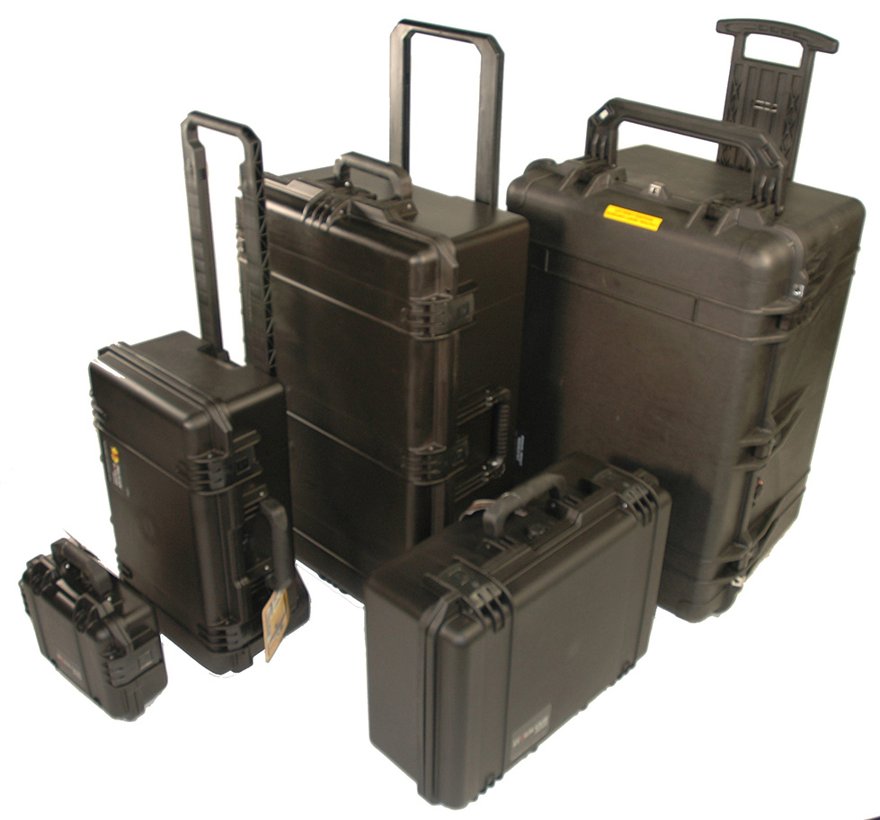 Hard Sample Cases, Custom Salesman Hard Carrying Cases | Alpack